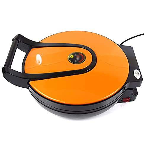 JJINPIXIU Bandeja para hornear eléctrica flotante para el hogar de 42 cm de nuevo tipo con calentamiento de doble cara y panqueques de barbacoa con apagado automático, seguro de usar y fácil de limpia