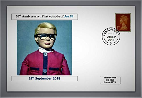 GB 2018 50th Anniversary of 1st Episode of Joe 90 privately Produced Glossy...