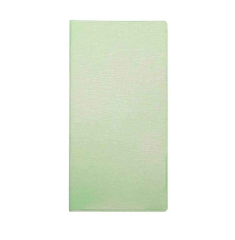 部屋を掃除するツーリスト自宅でコレクト 手帳カバー PVC製 紙幣ライトグリーン CP-510V2-LG 【まとめ買い5個セット】