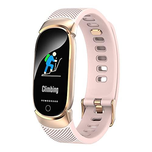 GAOYUAN Fit Bit Watches - Reloj de pulsera para hombre, monitor de frecuencia cardíaca, monitor de actividad, resistente al agua IP67, compatible con pulseras inteligentes iOS y Android