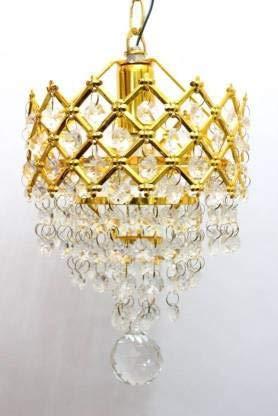 JUBILEE TRADERS Decorative Antique Design Hanging Crystal Ceiling LAMP Chandelier