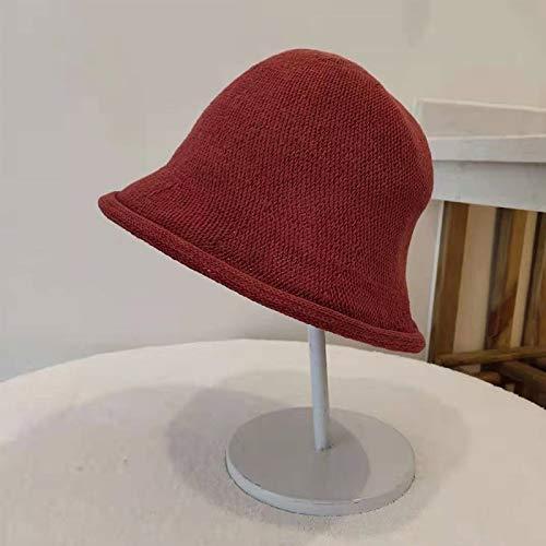 SHYPT Frauen-Wannen-Hüte Moderne Halloween-Hexe-Hut-Frauen-Dame gemacht Von Modische Schafwolle Hallowe'en Party-Hut Festival-Party-Hut (Color : C)