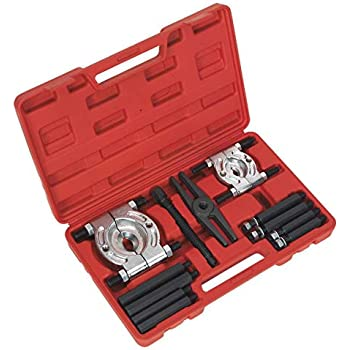 Fly Wheel Chuck Type Separator Set with Box Red 14Pcs Bearing Splitter Gear Puller