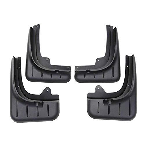 Guardabarros conjunto ejes delantero y trasero izquierdo y derecho (4 unidades) for Porsche Cayenne 2011 2012 2013 2014 2015 2016 2017 Protectores de protección contra salpicaduras salpicaduras moldes