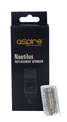 5Stück Original Aspire Nautilus Mini Ersatz-Zerstäuber Spulen 1,6Ohm. Eine Änderung der BVC Heizspiralen