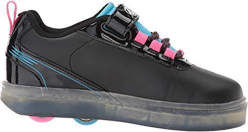Heelys Unisex-Kinder X2 Fitnessschuhe, Mehrfarbig (Black Blue/Neon Pink 000), 31 EU