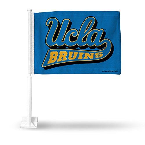 NCAA Rico Industries Car Flag including Pole, UCLA Bruins