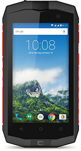 Crosscall Trekker-M1 Core Smartphone (4,5'' - 16 GB ROM - Dual Micro-SIM - Android) Negro/Rojo