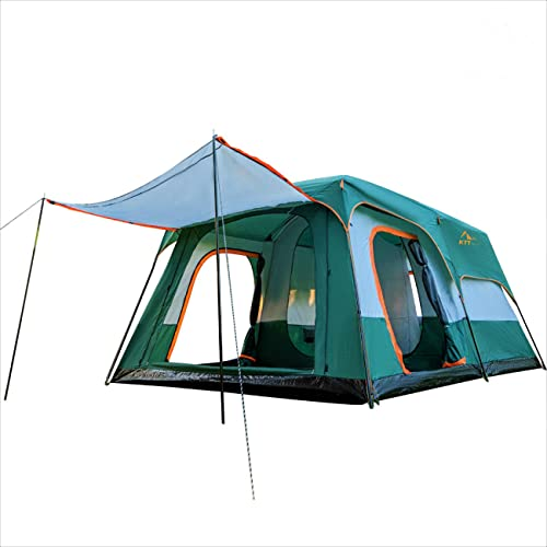 KTT Extra Large Tent 12 Person(Style-A),Family Cabin Tents,2...