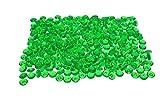 Decomadeinitaly Edelsteine aus Acryl-Kunststoff, Diamanten, Kristalle mit leuchtenden & lebendigen Farben in 500 ml Dosen, ca. 375 g (grün)