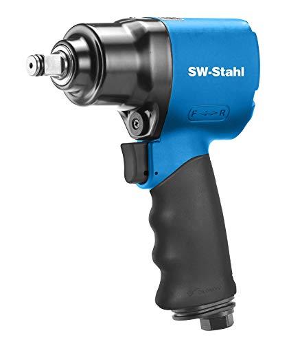 SW-Stahl S3275 Druckluft-Schlagschrauber I 1/2 Zoll I 1300 Nm I Druckluftschrauber für Reifenwechsel