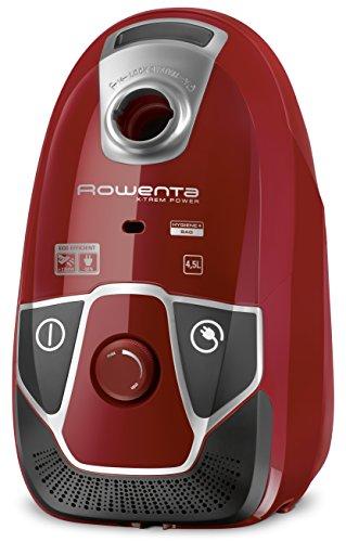 Rowenta X-Trem Power RO6843 - Aspirador con etiqueta energética AABA, triple filtración con bolsa de 4,5 l de...