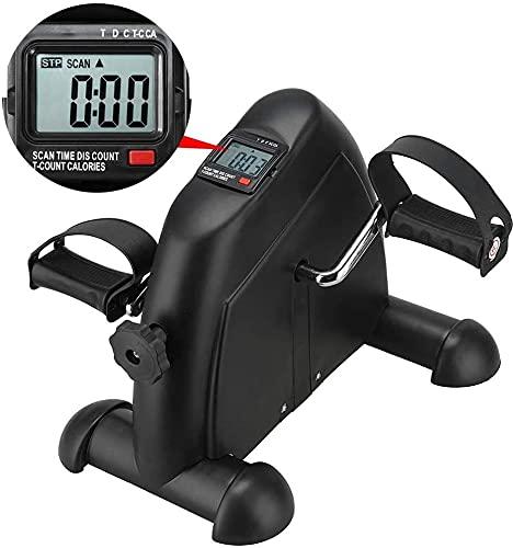 Qjkmgd Pedal Ejerciturador médico vendedor médico para el brazo de la pierna y el ejercicio de recuperación de la rodilla con el monitor LCD, Peddler de la pierna de ejercicios estacionarios - ideal p