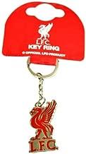 Official Football Merchandise Schl/üsselanh/änger-Metall-Logo Liverpool F.C Rot Verschiedene Fu/ßballteams zur Auswahl alle Schl/üsselanh/änger Lieferung in offizieller Geschenkverpackung! Rot