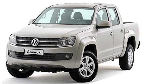 Déflecteurs pour VW AMAROK, G + D 2010-, Avant et Arriere, 4 pcs, HEKO