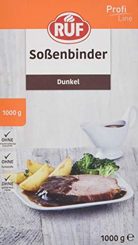 RUF Soßen-Binder dunkel ohne deklarationspflichtige Zusatzstoffe, 1er Pack (1 x 1000 g)