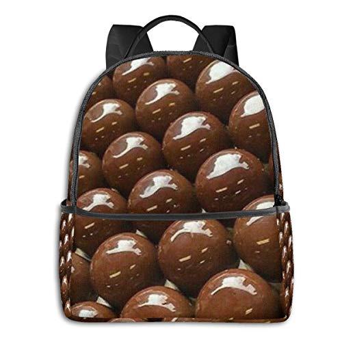 Schokoladenbohnen Rucksack, Männer Rucksack, Reiserucksack, Mode Bedruckte Rucksack Geschenke für Männer Frauen Jugendliche
