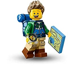 LEGO Series 16 Hiker Package opened to verify character's identity, then resealed in clear poly-bag. Comes with ALL original accessories and paper inserts.