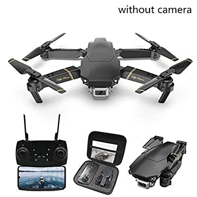 Finelyty Folding Quadcopter, Optional RC Drone WiFi FPV 360 Degrees Rotation One-button Return Home Quadcopter with 720P 1080P 4K HD Camera