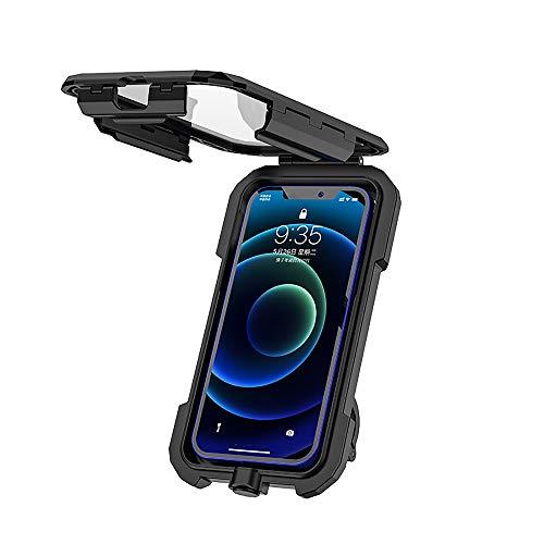 YouthRM Fahrradtelefonhalter Universeller Wasserdichter Handyhalter für Motorrad-Touchscreen Minimalist,small