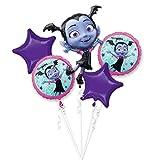 amscan 3901301 - Ramo de globos (5 unidades), color morado
