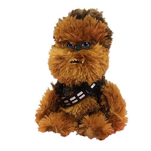 qwermz Soft Toys, Star Wars Chewbacca Plüschtier Kuscheltier Puppe Geburtstagsgeschenk Für Kinder 20 cm Chewbacca