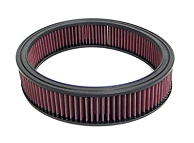 K&N Engine Air Filter: High Performance, Premium, Washable, Replacement Filter: 1968-1979 CADILLAC (DeVille, Fleetwood, Eldorado, Calais, Commercial Chassis), E-1510
