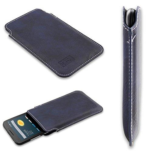 caseroxx Business-Line Etui für Alcatel One Touch Pixi 3 4013D, Tasche (Business-Line Etui in blau)