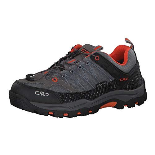 CMP Kinder Trekking Schuhe Rigel Low 3Q54554J Stone-ORANGE 38
