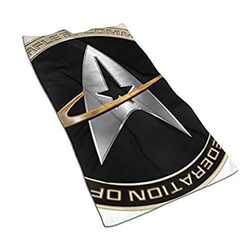 Walter Margaret Hittings Neva Star Trek 50 Toalla de microfibra perfecta para deportes y viajes, secado rápido, súper absorbente, ultra compacta (80 x 130 cm)