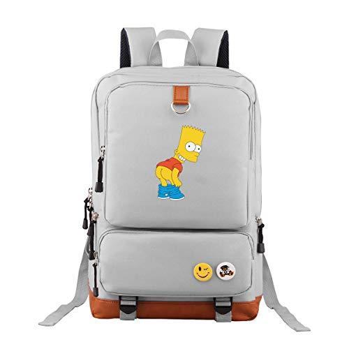 Simpson Oxford Rucksack Schulrucksack Laptoprucksack Für Herren Damen Jungen MädchenWanderrucksack
