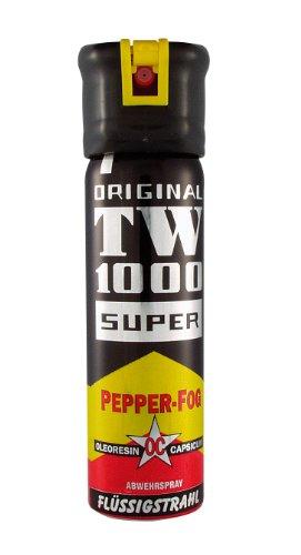 Pfefferspray 75 ml Flüssigstrahl TW1000
