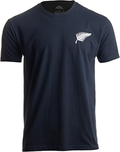Unisex-T-Shirt Silver Fern - Silberfarn-Motiv für Neuseeland-Fans New Zealand Rugby - L