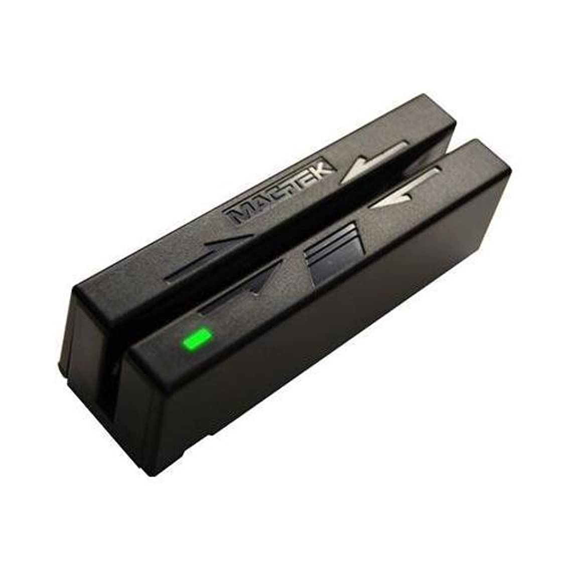 MagTek 21040140 USB Mini Swipe Magnetic Strip Credit Card Reader, Triple Track