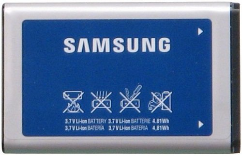 Samsung AB663450GZ/AB663450GZB/AB663450GZBSTD Lithium Ion Battery for Convoy U640 - Original OEM - Non-Retail Packaging - Blue