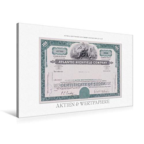 Calvendo Premium Textil-Leinwand 90 cm x 60 cm quer, EIN Motiv aus dem Kalender Aktien & Wertpapiere | Wandbild, Bild auf Keilrahmen, Fertigbild auf echter Leinwand, Leinwanddruck Wissen Wissen