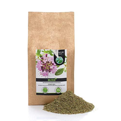 Maggiorana strofinata (250g), maggiorana essiccata, pura e naturale al 100% per la preparazione di miscele di spezie