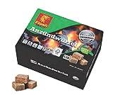Amafino Flash Anzündwürfel 1 Pack 128 Stück Holz und Wachs