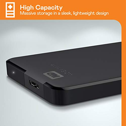 WD Elements Portable , externe Festplatte – 5 TB – USB 3.0 – WDBU6Y0050BBK-WESN - 4
