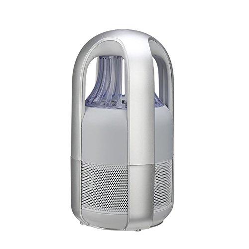 TB elektronische muggenmoordenaar niet-chemische USB aangedreven insectenvanger slimme licht controle led fotokatalysator niet-stralende muggenval met UV-licht zuignap ventilator voor binnen en buiten muggenmoordenaar