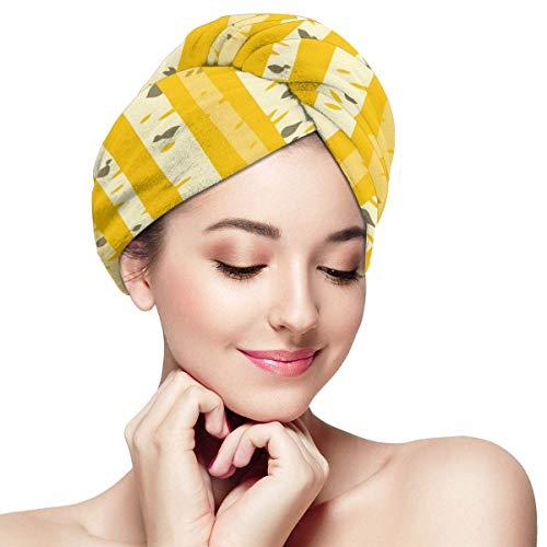 Serviette de séchage de cheveux d'automne d'Aspen Grove - chapeau de cheveux secs pour des femmes filles