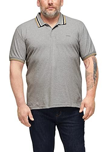 s.Oliver Big Size Herren 131.10.104.13.130.2103767 Polohemd, 9400, 5XL