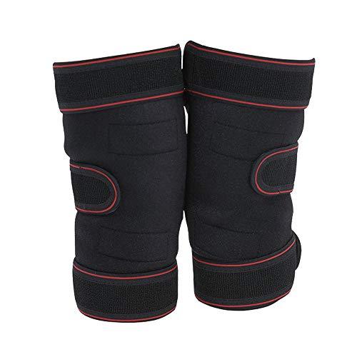 LINBUDAO 1 paar zelfverwarmende kniebeschermers, warme kniebeschermers, sportieve kniebeschermers