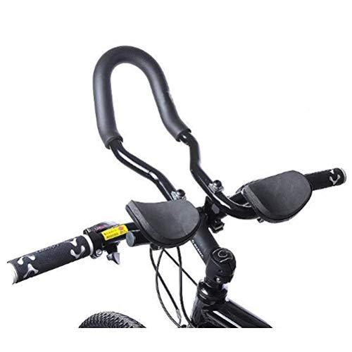 Triathlon Lenkeraufsatz Road Lenkeraufsatz Einstellbare Multi Position Fahrrad Ruhe Lenker Armauflage für Rennräder und Mountainbike Radfahren