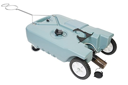 Tote-N-Store 20123 Portable Waste Transport 4 Wheeler, 25 Gallon