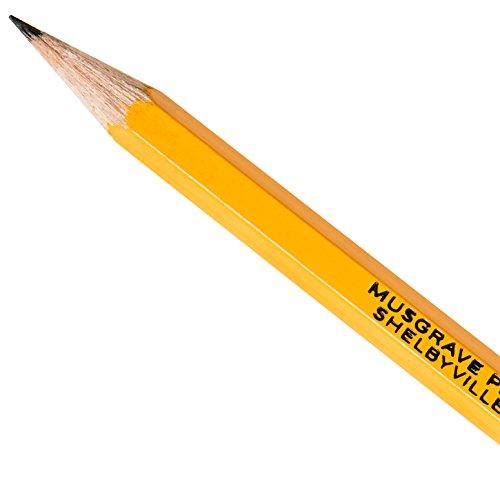 Musgrave Ceres Premium #2 USA Made Presharpened pencils, 48 pencils