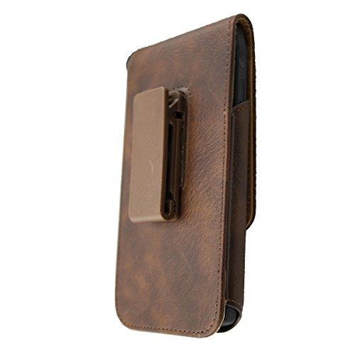 caseroxx Handy Tasche Outdoor Tasche für Cubot King Kong, mit drehbarem Gürtelclip in braun