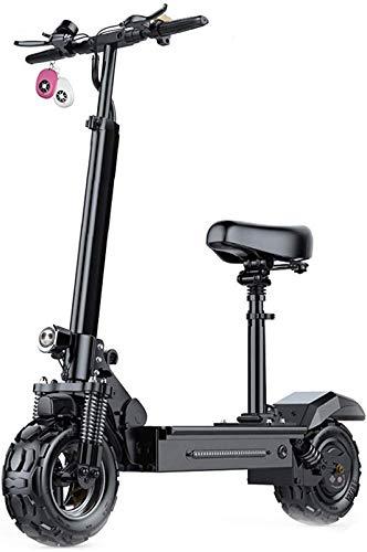 Bicicleta eléctrica de nieve, Bicicleta eléctrica para plegable para adultos Pequeño scooter...