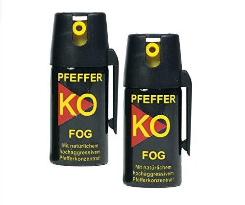 2er Set Pfefferspray Tierabwehrspray Ballistol Fog