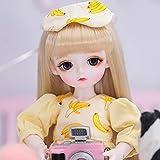 1/6 BJD Doll 26Cm 10.2'Muñecas Articuladas SD Dolls, Fashion Super Shorts Suit Energetic Idol Girl, Juego Completo De Regalos para Cumpleaños, Juguetes Favoritos